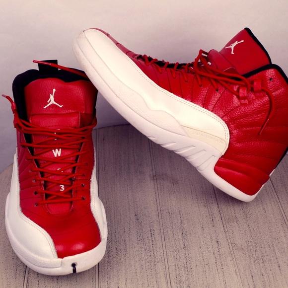 low priced 853da 7eea6 Jordan Other - Nike Air Jordan 12 Retro Gym Red XII Sneakers